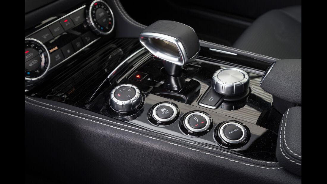 Mercedes CLS 63 AMG S 4Matic, Schalthebel