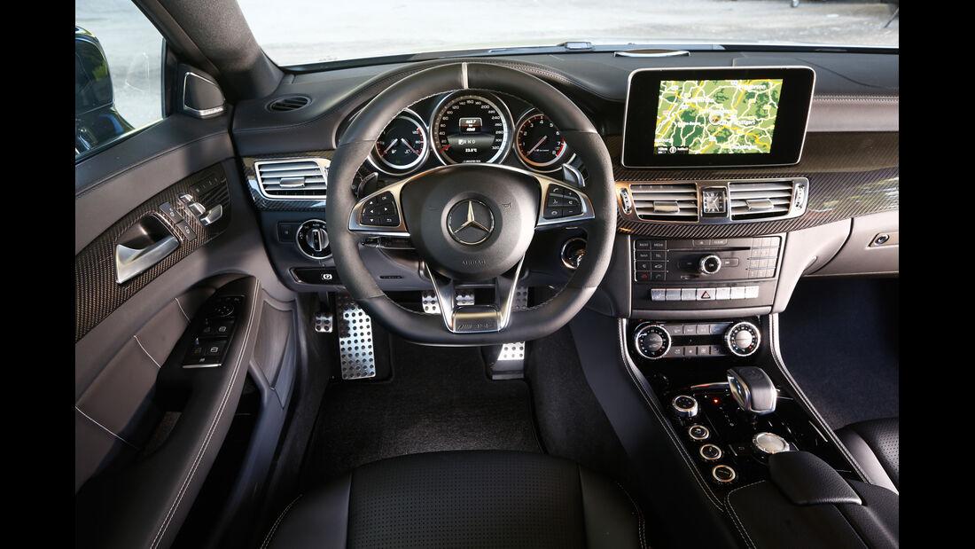 Mercedes CLS 63 AMG S Shooting Brake, Cockpit