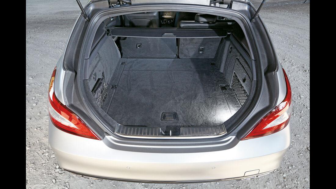 Mercedes CLS 63 AMG S Shooting Brake, Kofferraum