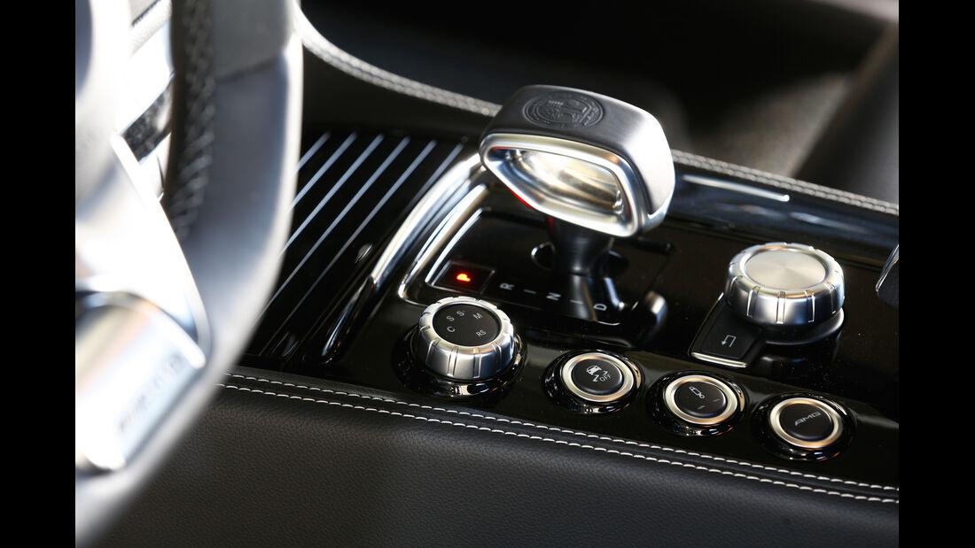 Mercedes CLS 63 AMG S Shooting Brake, Mittelkonsole