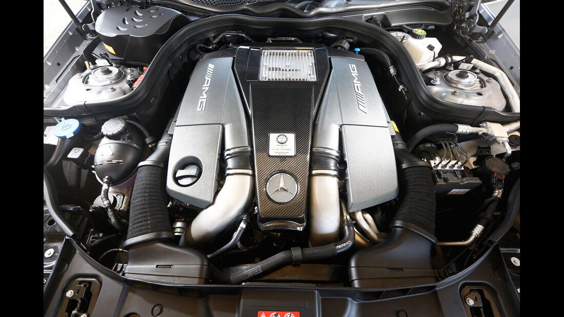 Mercedes CLS 63 AMG S Shooting Brake, Motor