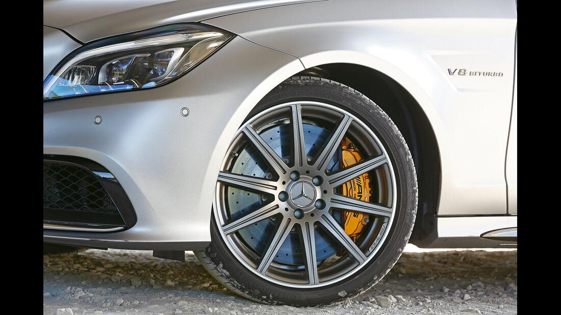Mercedes CLS 63 AMG S Shooting Brake, Rad, Felge, Bremse