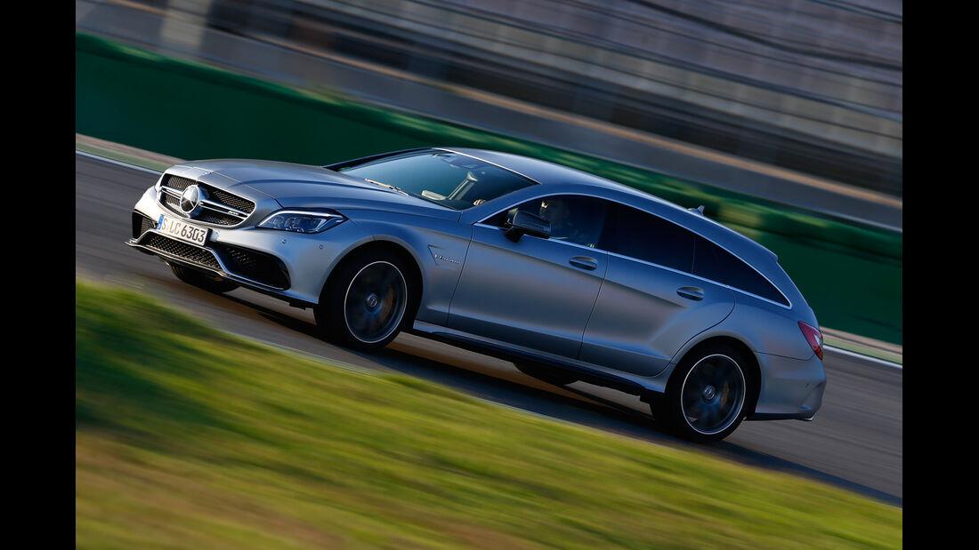 Mercedes CLS 63 AMG S Shooting Brake, Seitenansicht