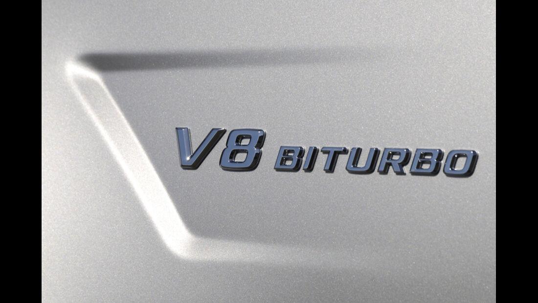 Mercedes CLS 63 AMG, Schriftzug