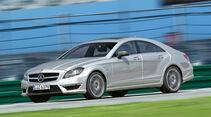 Mercedes CLS 63 AMG, Seitenansicht