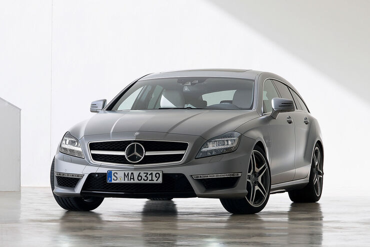 Mercedes CLS 63 AMG Shooting Brake,