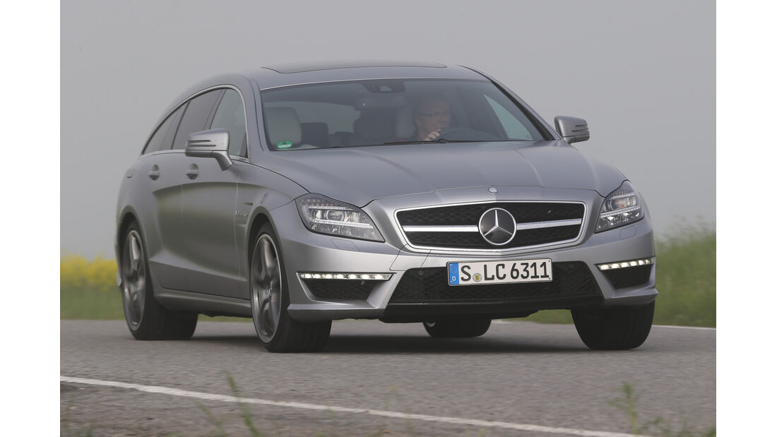 Mercedes CLS 63 AMG Shooting Brake, Frontansicht