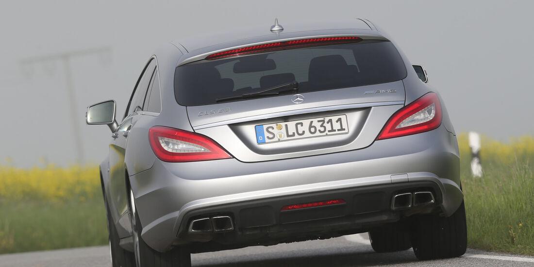 Mercedes CLS 63 AMG Shooting Brake, Heckansicht