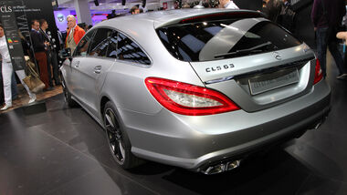 Mercedes CLS 63 AMG Shooting Brake, Messe, Autosalon Paris 2012