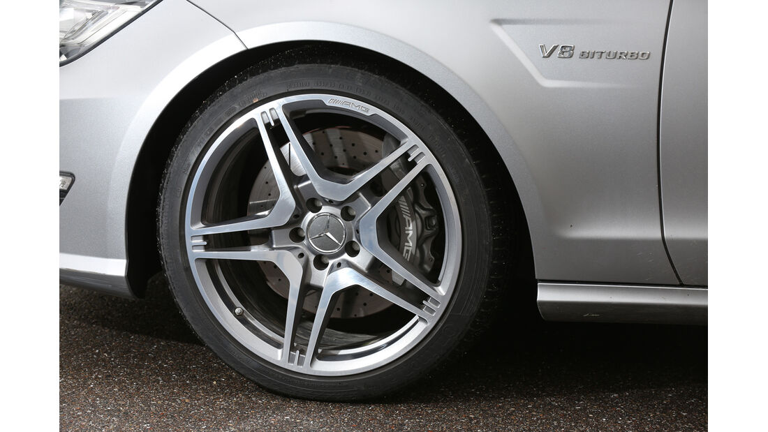 Mercedes CLS 63 AMG Shooting Brake, Rad, Felge