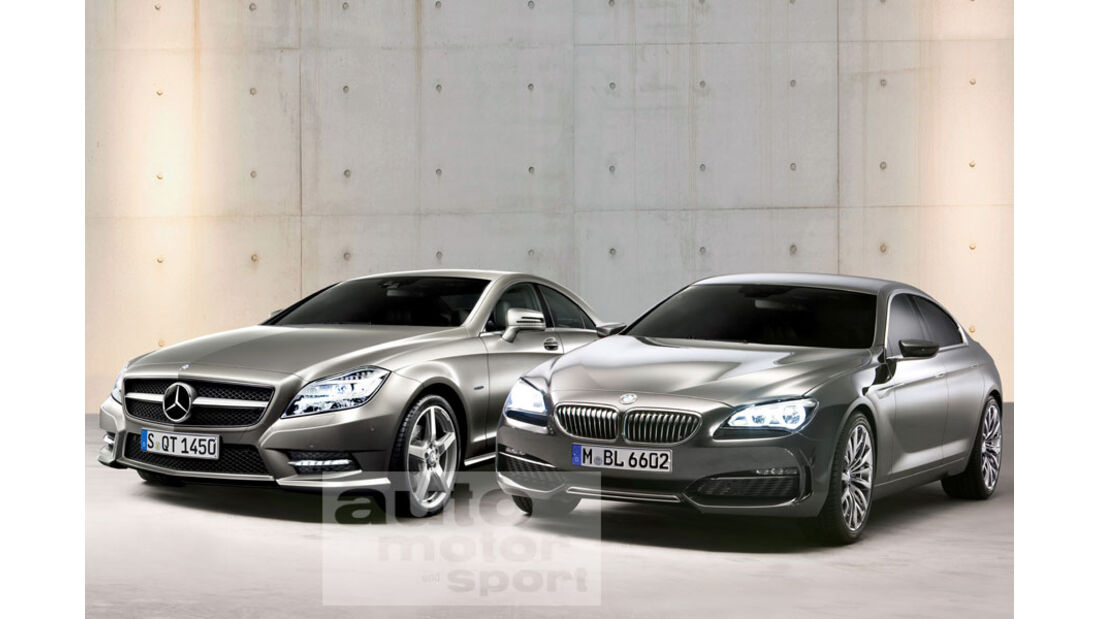 Mercedes CLS, BMW Gran Coupé