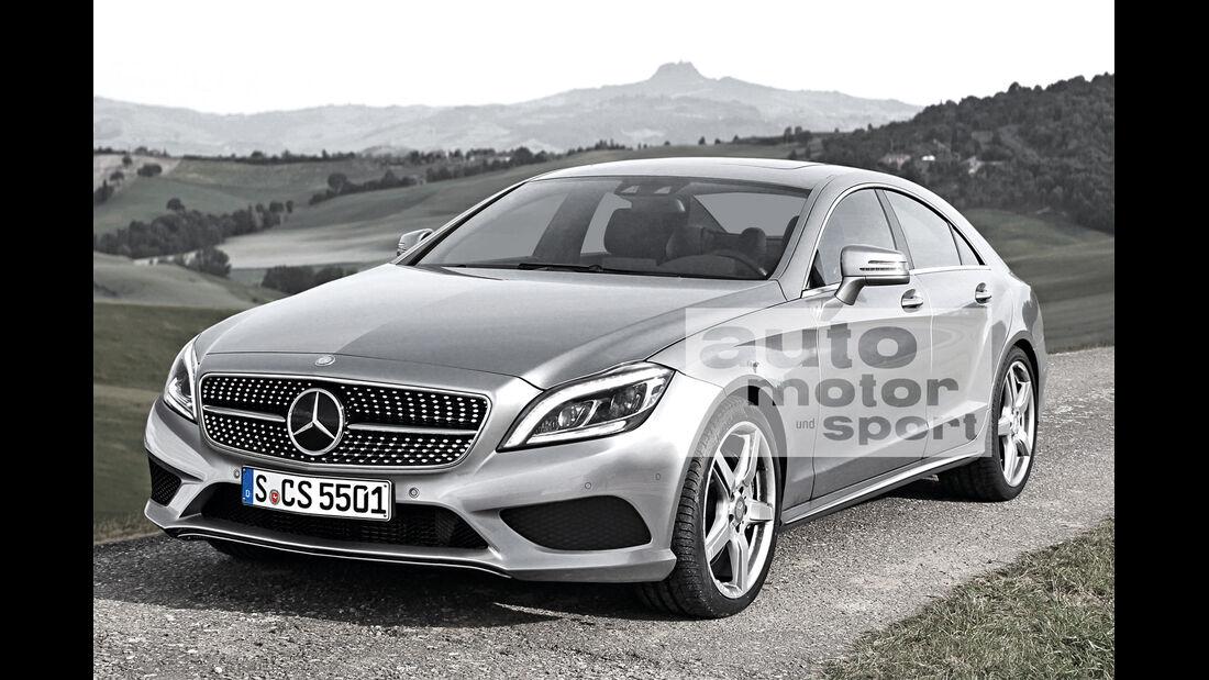 Mercedes CLS, Frontansicht