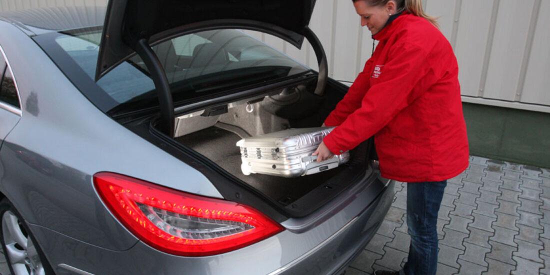 Mercedes CLS, Kofferraum