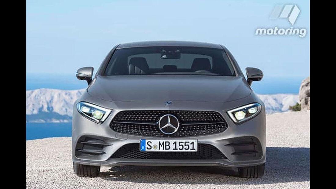 Mercedes CLS LEAKED
