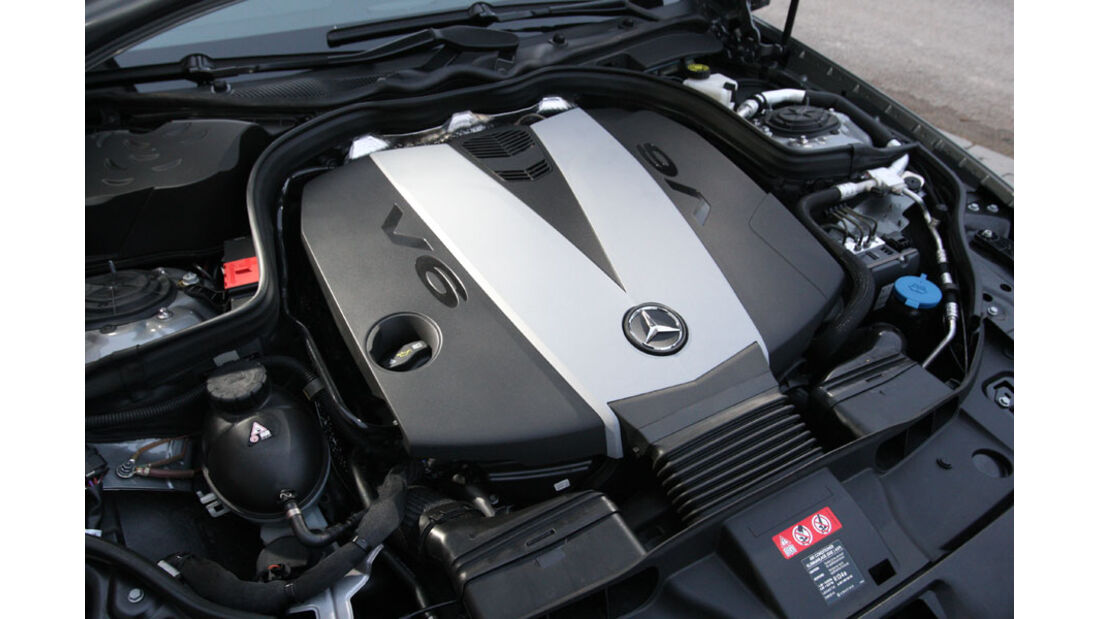Mercedes CLS, Motor