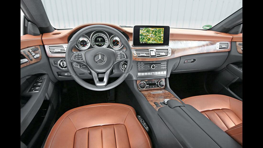 Mercedes CLS Shooting Brake, Cockpit