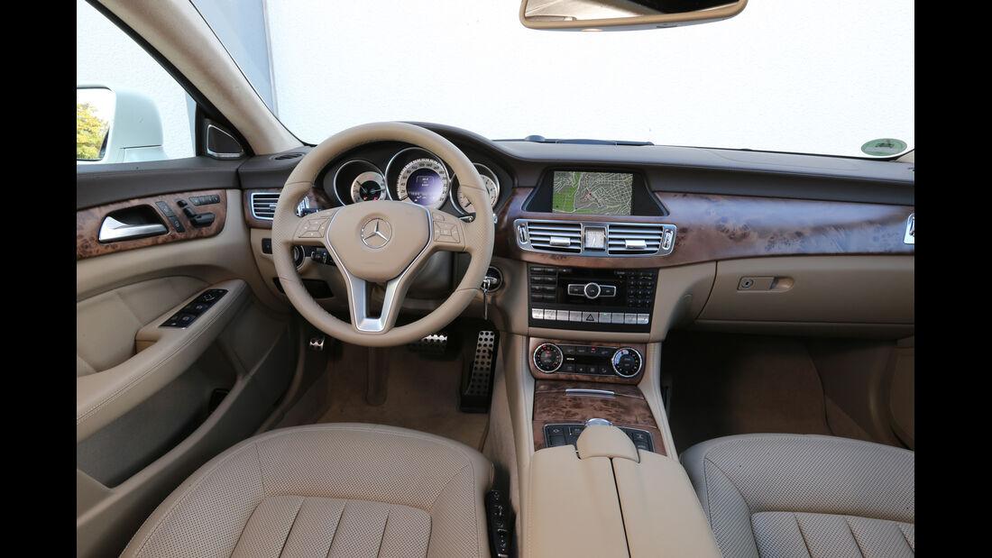 Mercedes CLS Shooting Brake, Cockpit, Lenkrad