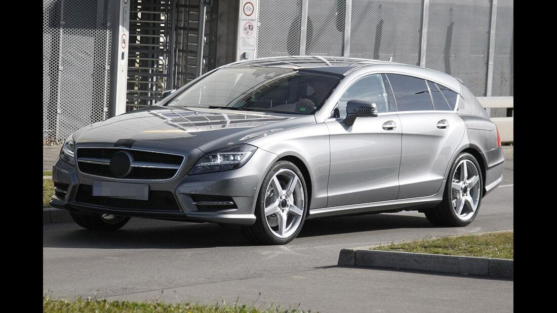 Mercedes CLS Shooting Brake Erlkönig