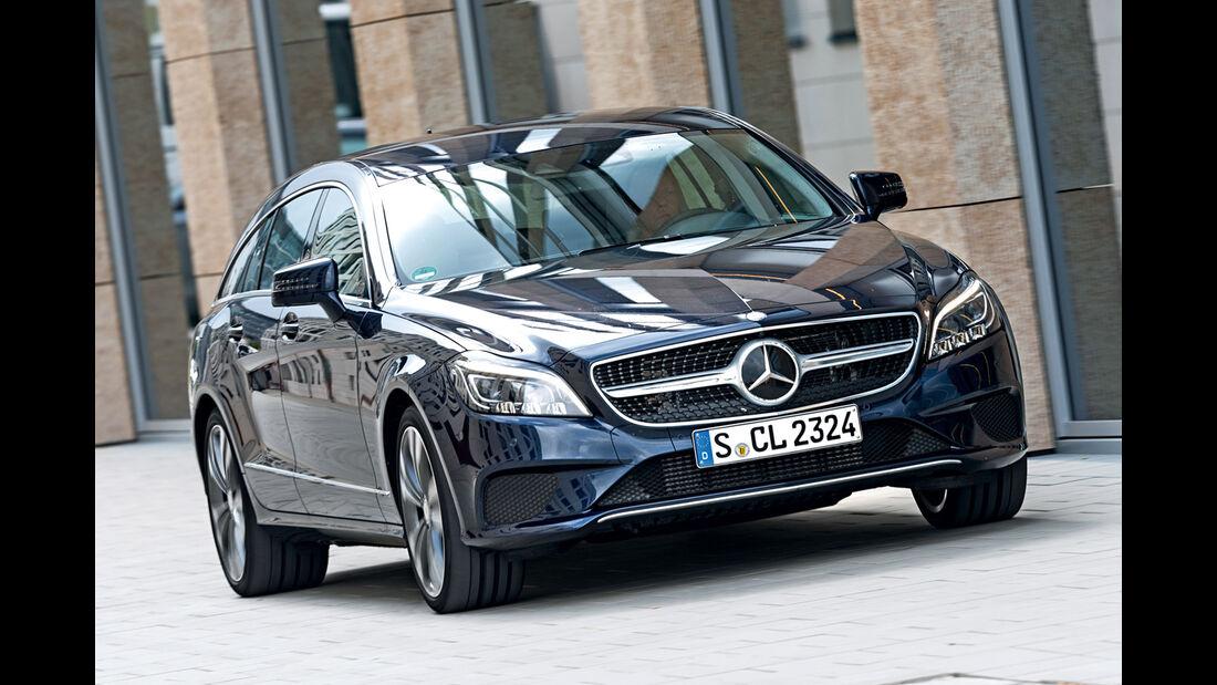 Mercedes CLS Shooting Brake, Frontansicht