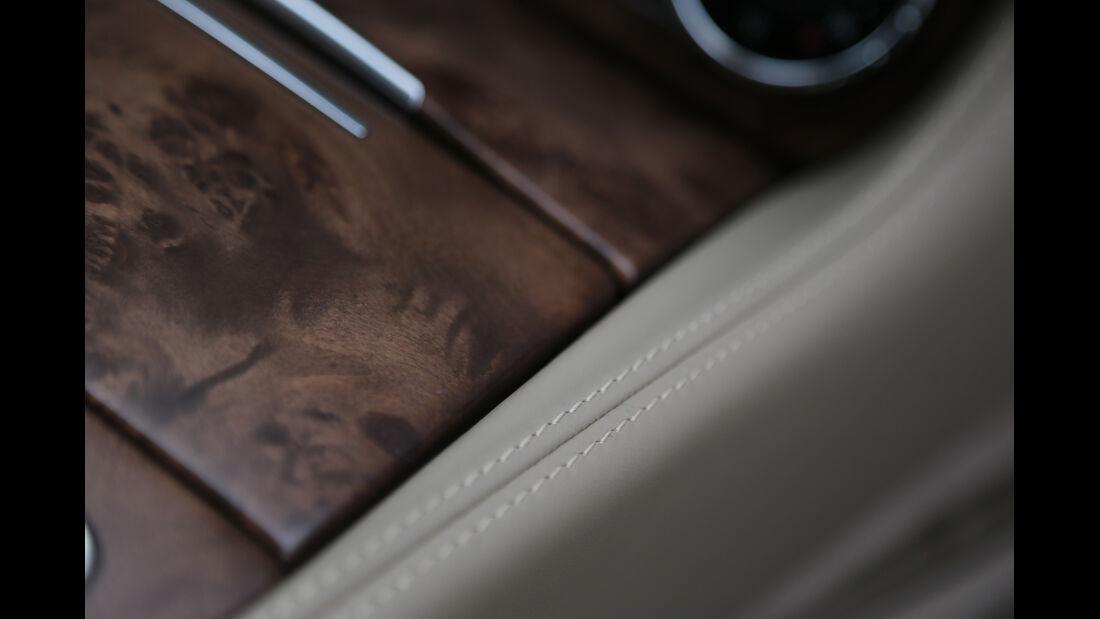 Mercedes CLS Shooting Brake, Holz, Detail, Verarbeitung