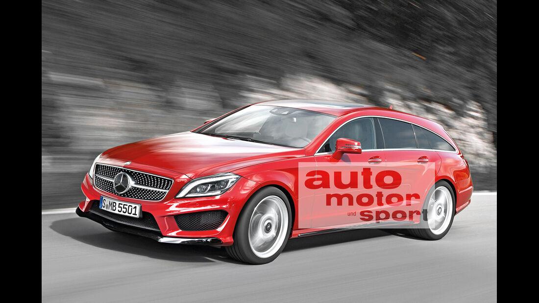 Mercedes CLS Shooting Brake, Seitenansicht