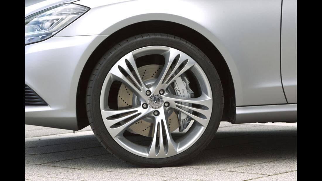Mercedes CLS Shooting Break, Felgen