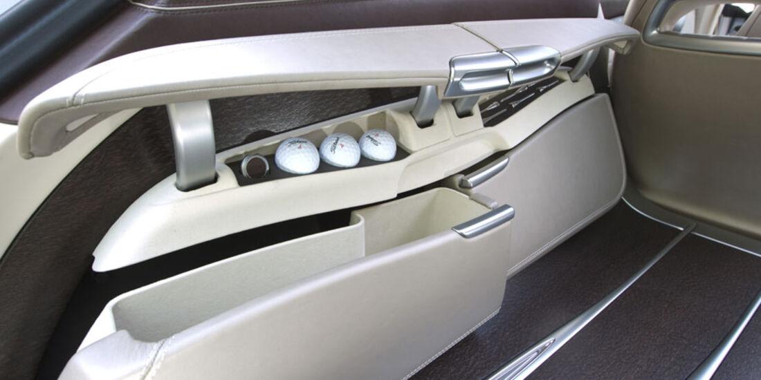Mercedes CLS Shooting Break, Kofferraum