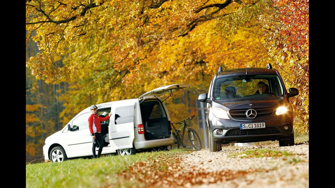 Mercedes Citan 109 CDI, Frontansicht, Seitenansicht