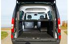 Mercedes Citan 109 CDI, Kofferraum, Ladefläche