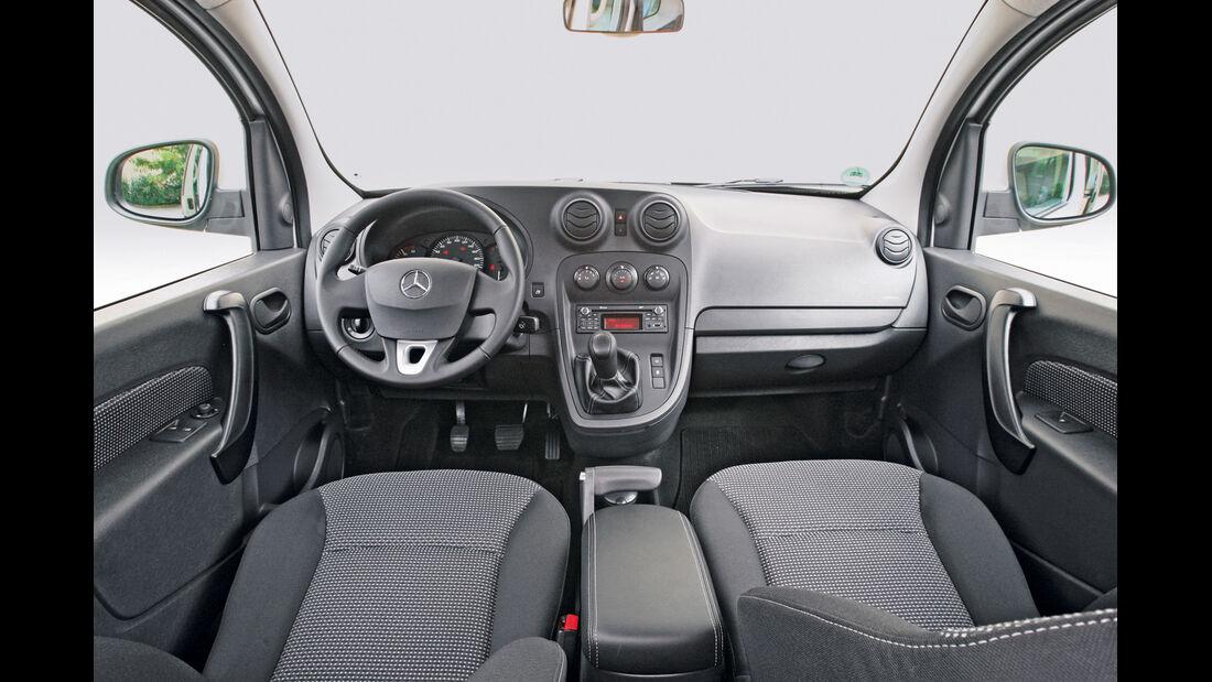 Mercedes Citan Kombi, Cockpit, Lenkrad