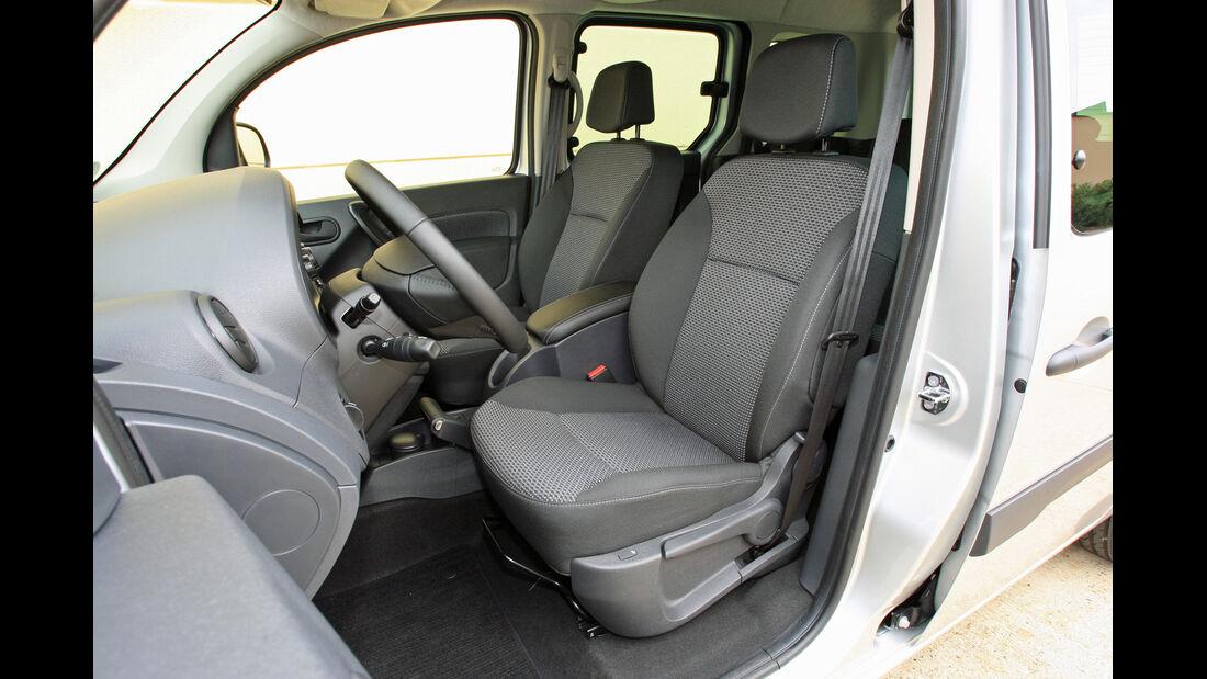 Mercedes Citan Kombi, Fahrersitz