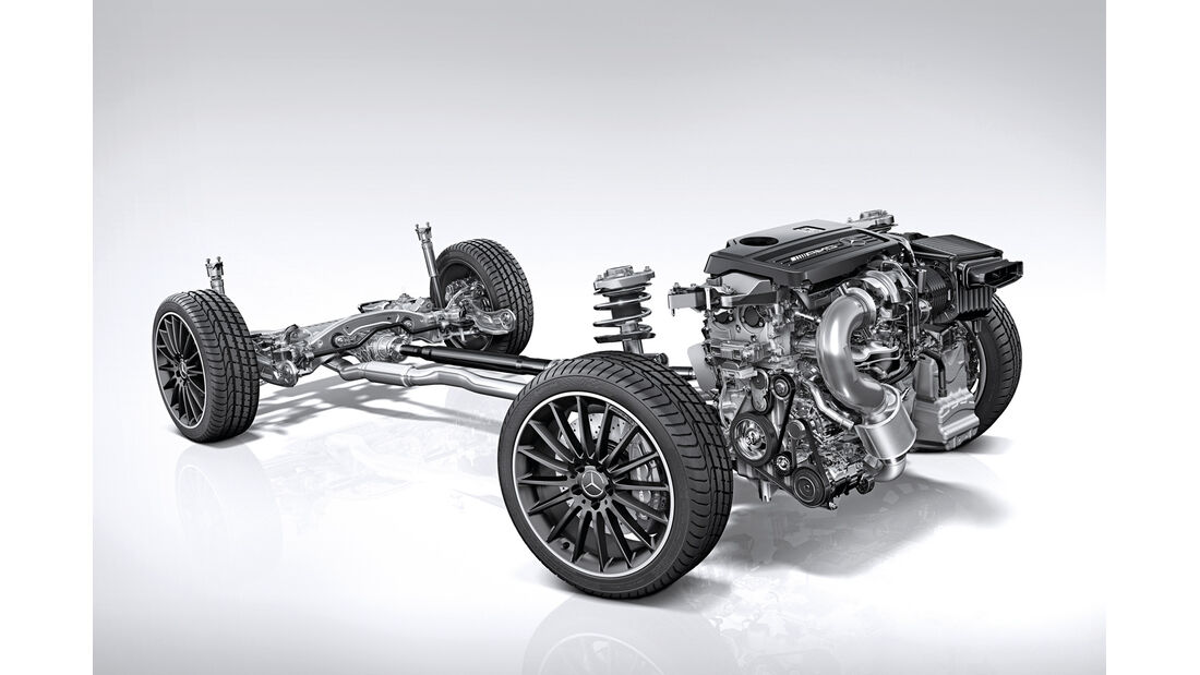 Mercedes City-G, Antriebsstrang