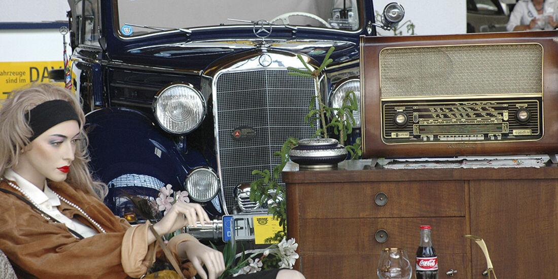 Mercedes-Clubstand auf der Klassikwelt Bodensee