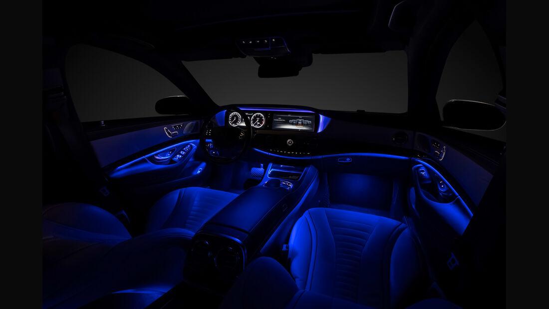 Mercedes, Cockpit, Abgedunkelt