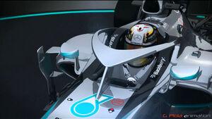 Mercedes - Cockpit-Protection - Piola-Animation - Formel 1 2015