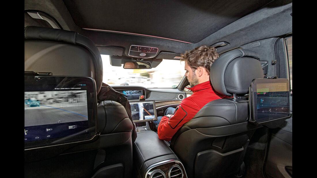 Mercedes, Cockpit, Testwagen