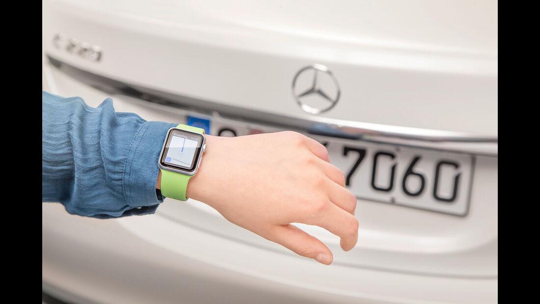 Mercedes Companion-App mit Apple Watch