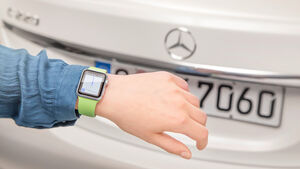 Mercedes Companion-App mit Apple Watch