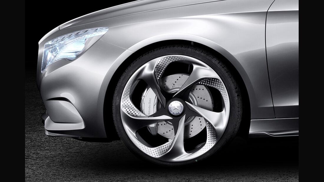 Mercedes Concept A, A-Klasse-Studie, Felge
