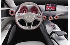 Mercedes Concept A, A-Klasse-Studie, Innenraum, Cockpit