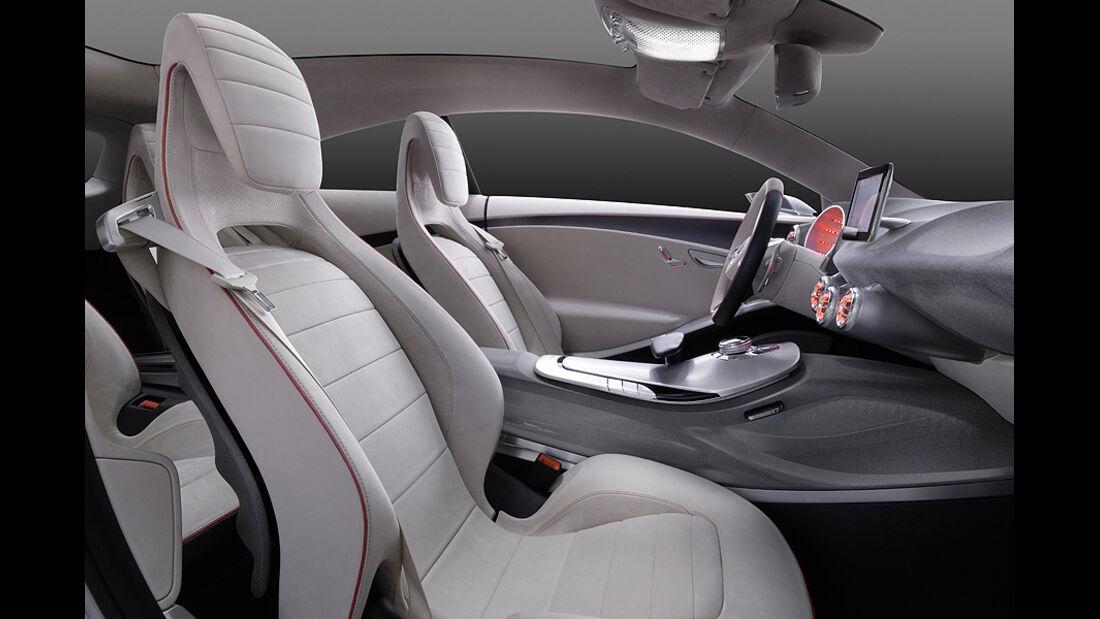 Mercedes Concept A, A-Klasse-Studie, Innenraum, Sitze