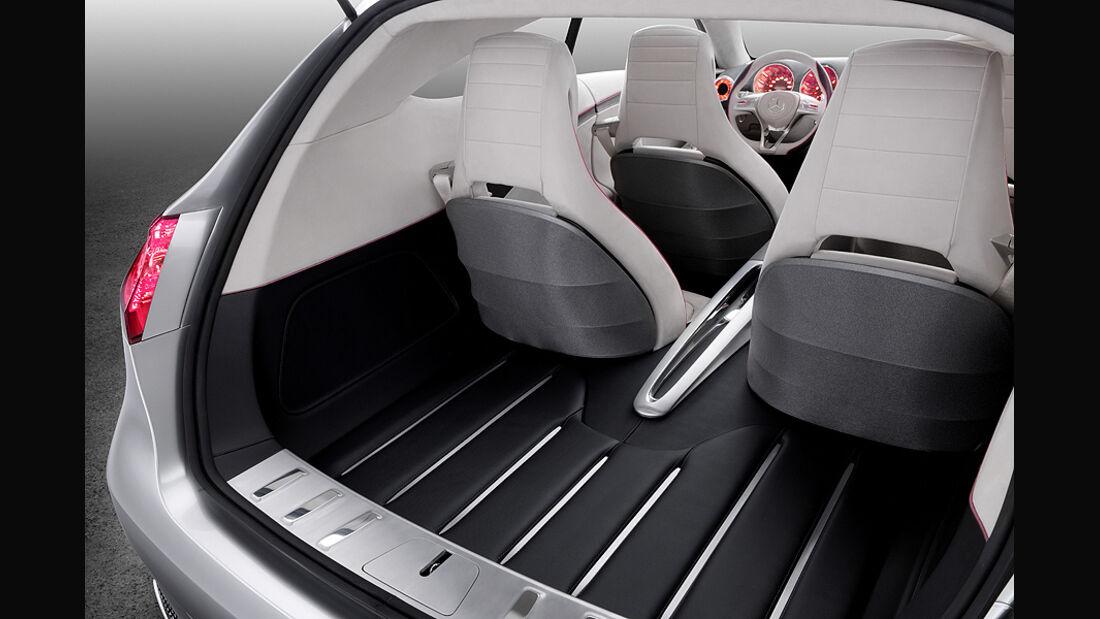 Mercedes Concept A, A-Klasse-Studie, Kofferraum