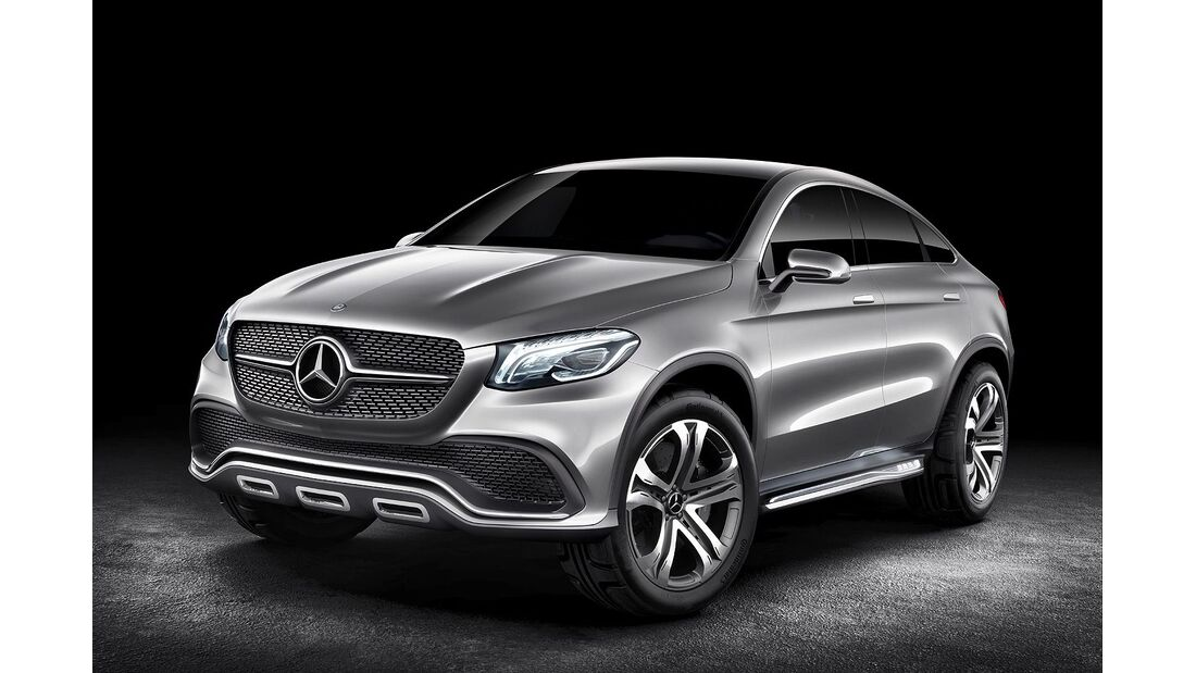 Mercedes Concept Coupé SUV