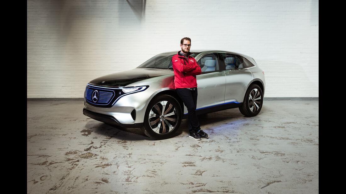 Mercedes Concept EQ Mitfahrt