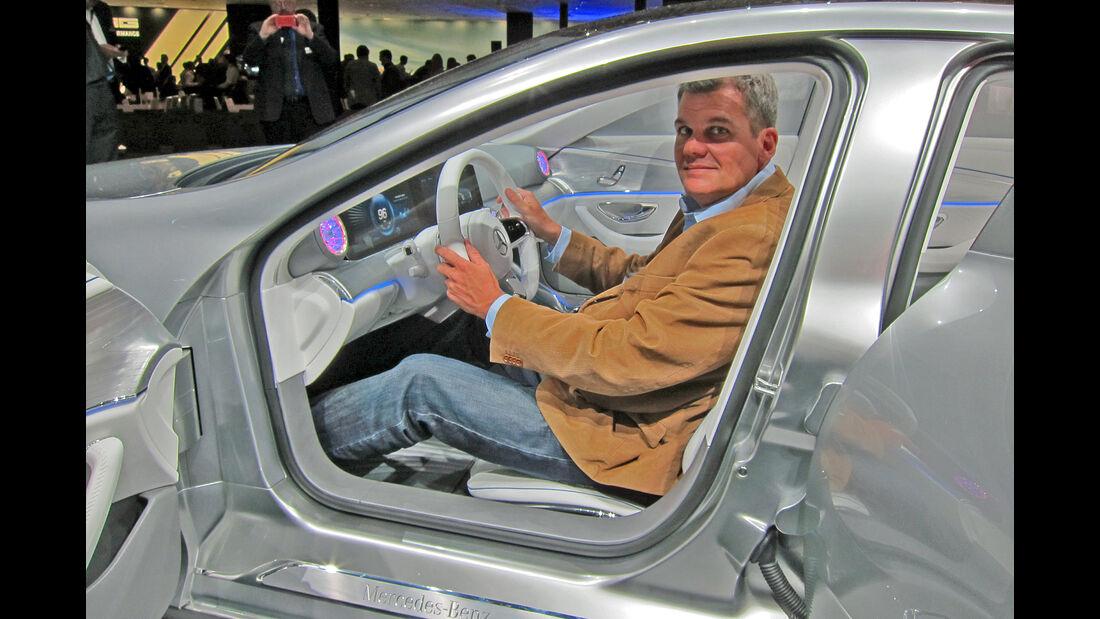 Mercedes Concept IAA 2015 Sitzprobe