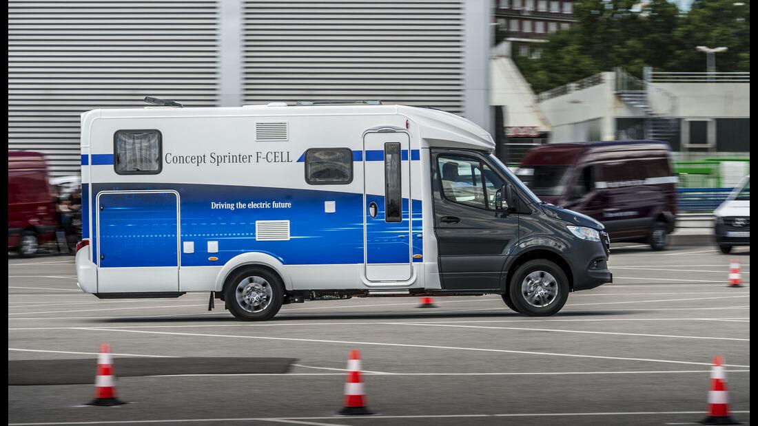 Mercedes Concept Sprinter F-CELL Wohnmobil Brennstoffzelle