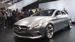 Mercedes Concept Style Coupé Sitzprobe Birgit Priemer