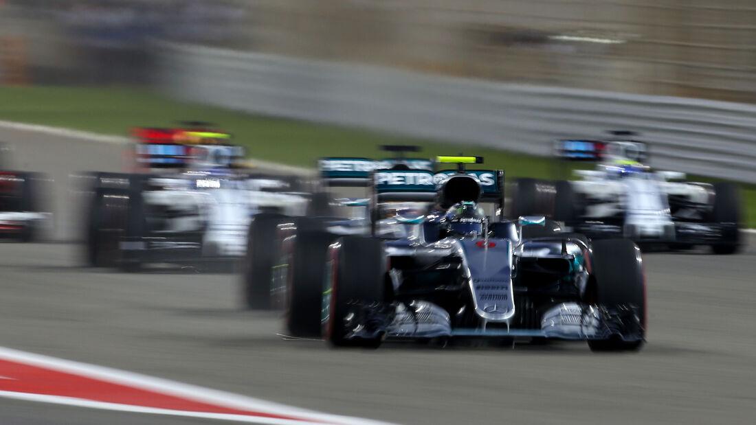 Mercedes - Crazy Stats - GP Bahrain 2016