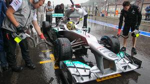 Mercedes DRS GP Belgien 2012