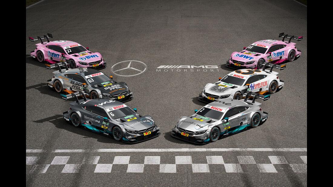 Mercedes - DTM-Autos 2017